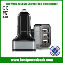 HC-C61 portable car battery charger with 3 usb port 5.2a current