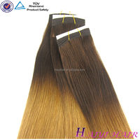 Direct hair factory double drawn remy wholesale price hair extension for white people