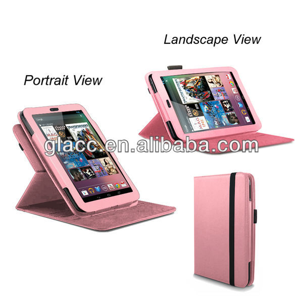 2013 New arrive fit for Apple ipad5,360 rotation case