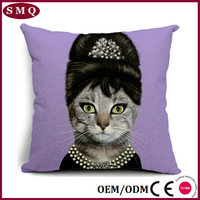 Top sale cotton decorative sofa/hotel/car throw pillow home ware pillow cover