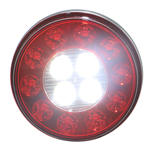 4'' Round LED Stop/Turn/Tail/Back-up light truck car DOT
