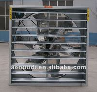 54 inch air vent shutter fan with CE certification for greenhouse/poultry house/industrail /pig house /gym