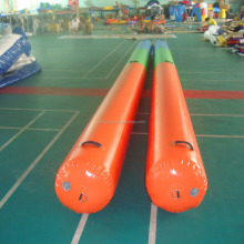Water Park Inflatable Long Tube / Inflatable Swim Buoys For Sale R6056