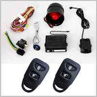 Lixing Remote Control wireless wheels smart car alarm system