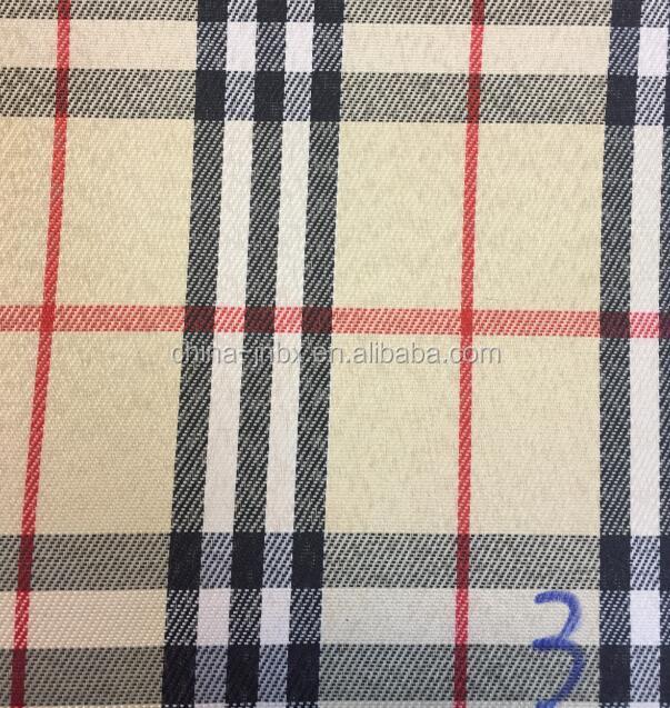 hilado teido de tela solidez del color para sol cubre
