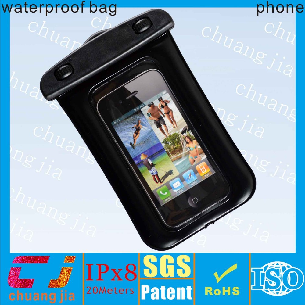 2017 new style eco-friendly pvc waterproof cell phone cases for Sony Z5P
