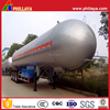 Propane Tank Semi Trailer/LPG Trailer Truck Tanker With Max 25Tons Loading Capacity