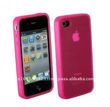 cellphone TPU Case For Apple Iphone 4 with top quality,good hand feeling!