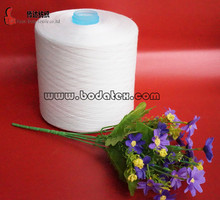 100% spun polyester sewing thread dyed plastic cone yarn