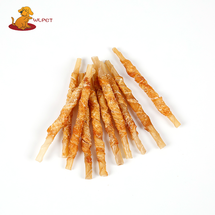 Cowhide Roll With Chicken Munchy Sticks Dog Chew Food