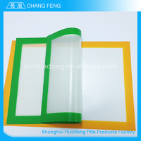 Factory sale various widely used silicone rubber baking oven mat