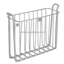 Iron Wire Magazine Storage Rack Holder /Metal Wire Basket