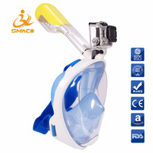 2018 Top Technology Factory Full Face Snorkel Mask Diving Mask