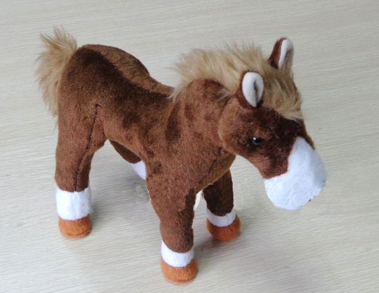 Plush horse toy, animal plush toys for promotion