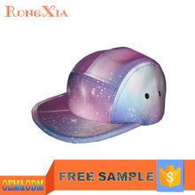 China Manufacture Galaxy 5 Panel Caps and Hats