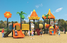 factory directly sale outdoor playground equipment children spiral tube slide
