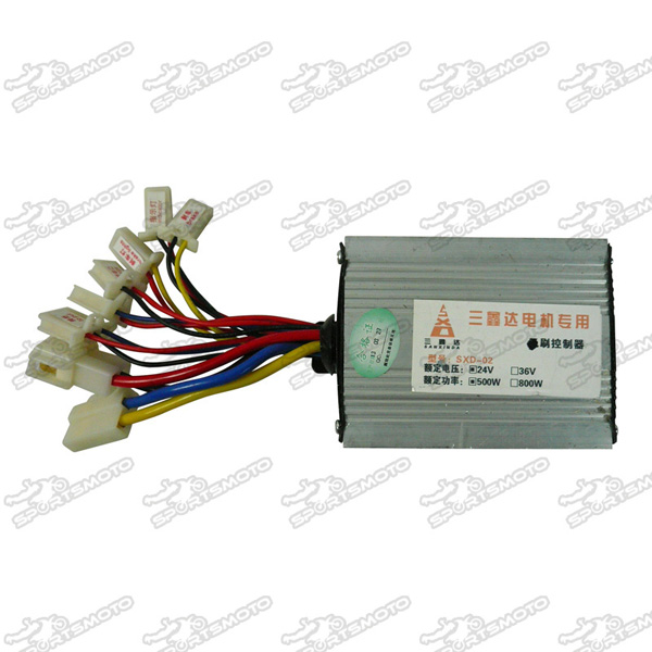 Electric Bicycle Parts Controller Box 500W 24Volt