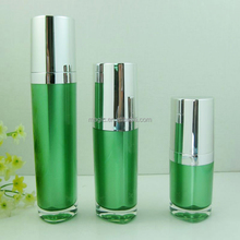 Triangle shape empty cream jar cosmetic packaglotion and acrylic jars for cosmetics bottles