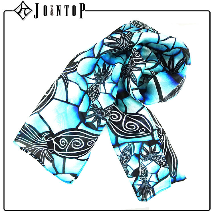 Sale high quality flower microwave scarf
