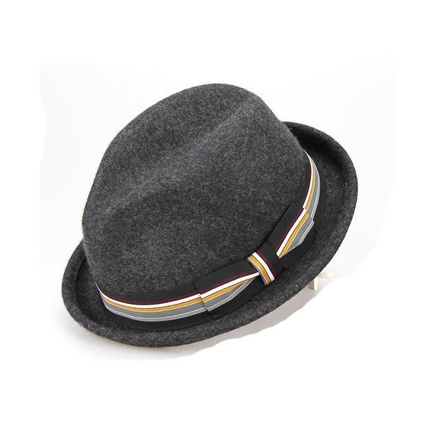 high quality Handmade Vintage Fedora men's fashion 100% wool plain felt hat
