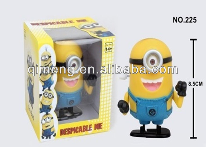 tpr plastic despicable me minion stress ball toys