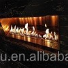 2015 modern new style wall fireplace with bioethanol fuel