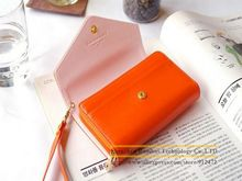Lady Women PU Leather Zipper Handbag Wallet Purse Mobile Phone Case Cover for 5.5 inch Smart Phones