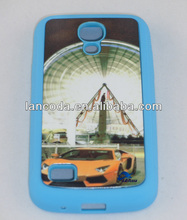 For samsung s4 i9500 sublimation cell phone cases