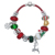 Wholesale 2018 Alibaba Express Christmas Leather Charm Bracelet for Women Men Gifts