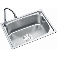 Best discount cheap 304 stainless steel single bowl kitchen sink