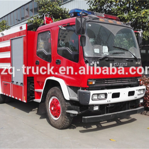 Japan FVZ 15CBM water and foam fire truck with stainless steel tank and Darley pump