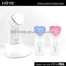 Rechargeable home use handheld ipl microcurrent photon therapy beauty machine