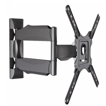 "Dual Articulating Arm NB DF400 TV Wall Mount Bracket for 20-65"" TVs up to VESA 400"