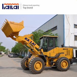 KAILAI KL938G 1.8M3 wheel loader 3 ton MINI wheel loader