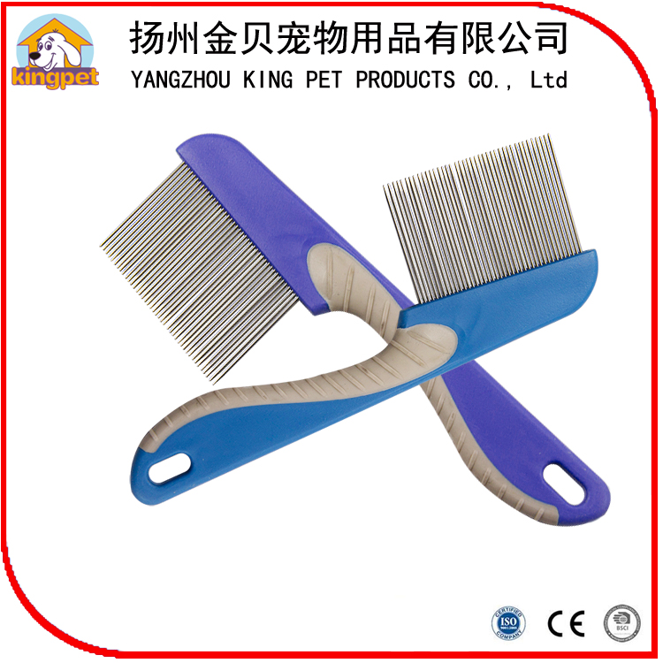 Professional factory OEM stainless steel dog lice comb head hair removal