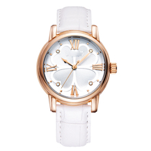 Alibaba Hot Geneva Brand Flower Leather Watches Lady Girl Dress Relogio Analog Quartz Vogue Wrist Watches