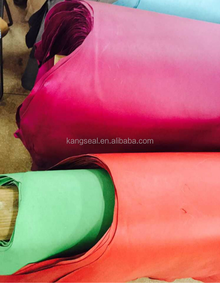 Fashion pig grain leather, pig leather, cheap chinese leather for shoes
