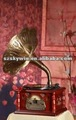 Classic gramophone, CD player, Radio, nostalgic phonograph