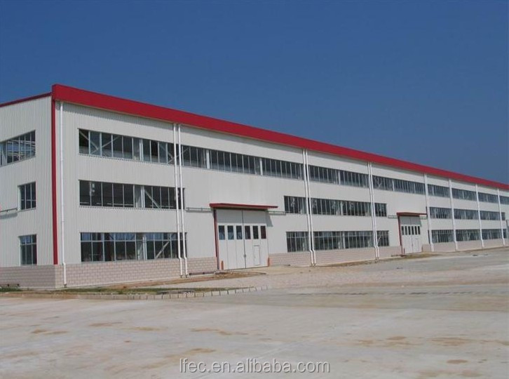 Low Cost Steel Structure Metal Building Workshop Specified Materials