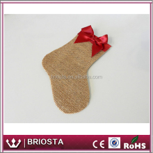 Wholesale Personalized Table Decor Burlap Christmas Silverware Holder