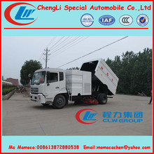 10tons truck mounted street sweeper truck,off road truck,street cleaner