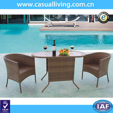Factory Production All Weather Cheap Brown PE Rattan Outdoor Furniture