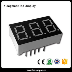 7 Segment LED Display Indoor Usage and numeric,number Display Function 7 segment led display for countdown timer