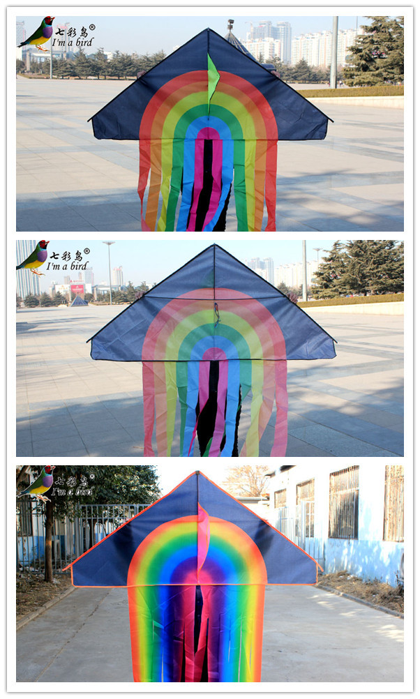 cheap easy fly folded polyester kite