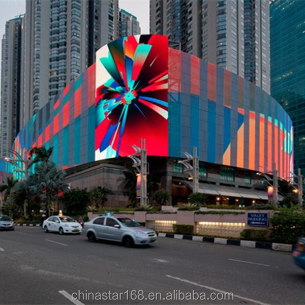 Transparent full color xxx video P10 DIP front open strip curtain led screen for outdoor advertisement and decorating