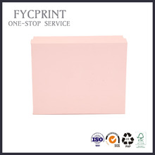 wholesale creative pink packaging paper box with foam