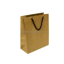 hot seller eco-friendly machine made food kraft paper bag wholesales manufacturer