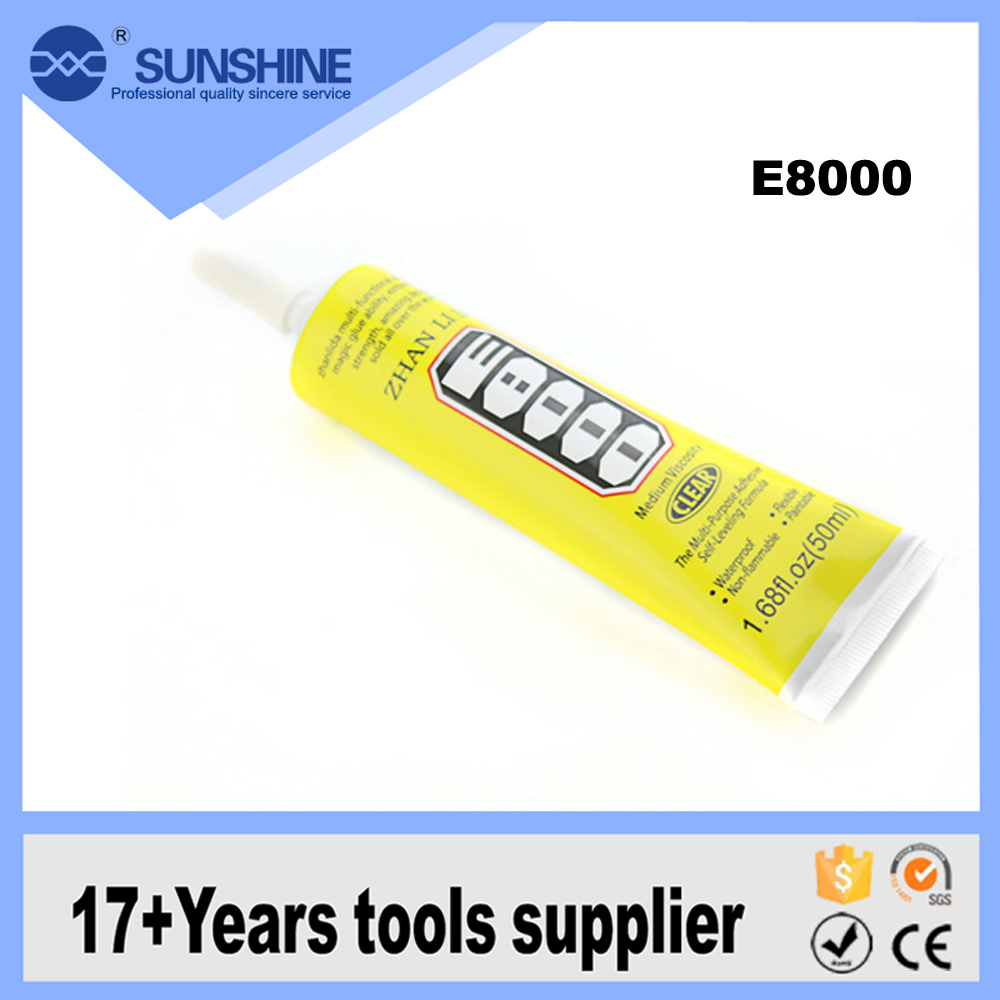 Cheap Adhesive Sealant E8000 multipurpose adhesive repair glue for mobile phone lcd touch screen