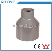 Plumbing PVC-U Pipe Fitting Flexible Reducing Coupling for Plastic Water Tube