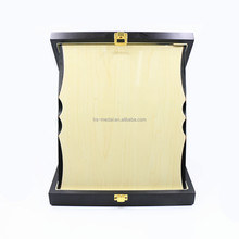 Factory Outlet High Quality Award Medal Stand Wooden Plaque With Gift Box